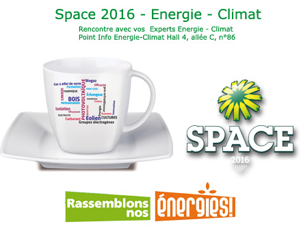Space2016 - Energie-Climat - Rencontrez vos Experts